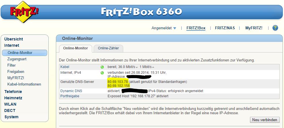 zugangs ip fritzbox 6360