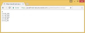 Java Versionstest